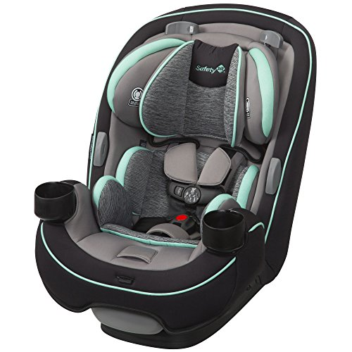 Safety 1st Grow and Go All-in-One Convertible Car Seat, Aqua Pop