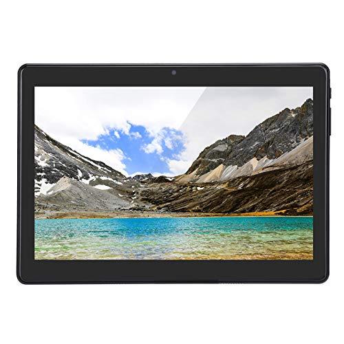Vbestlife Tableta del teléfono de 10 Pulgadas 3G, ROM de 32GB 1GB RAM 2.4G / 5G WiFi Tableta del teléfono Android7.0, Tarjetas SIM Dobles, Cámara de 5MP(Enchufe de la UE)