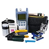 Zoostliss FTTH Fiber Optic Tool Kit with Medidor Fibra Optica and Visual Fault Locator and...