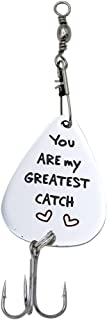 Melix Home You are My Greatest Catch Fishing Lure Stainless Steel Fisherman Gift