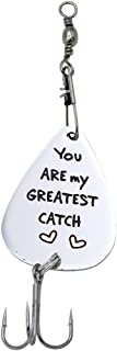 Melix Home You are My Greatest Catch Fishing Lures Stainless Steel Fisherman Gift