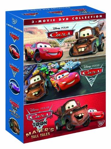 Cars 1, 2 and Toons Boxset [Reino Unido] [DVD]