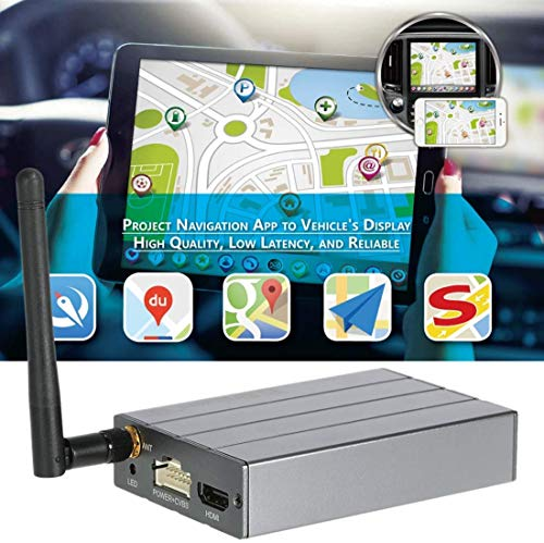 picK-me Dongle Display WiFi per Auto, WiFi Mirror Box, Compatibile per iOS Android Airplay Miracast DLNA Navigazione GPS, Phone to Car & Home TV