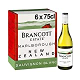 Brancott Estate Marlborough Sauvignon Blanc, New Zealand Crispy, Fruity and Sweet White Wine