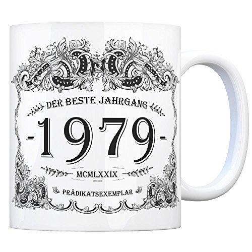trendaffe - 1979 der Beste Jahrgang Kaffeebecher - EIN tolles Geschenk zum Geburtstag für Wein Liebhaber und alle die im Jahr 1979 geboren sind.