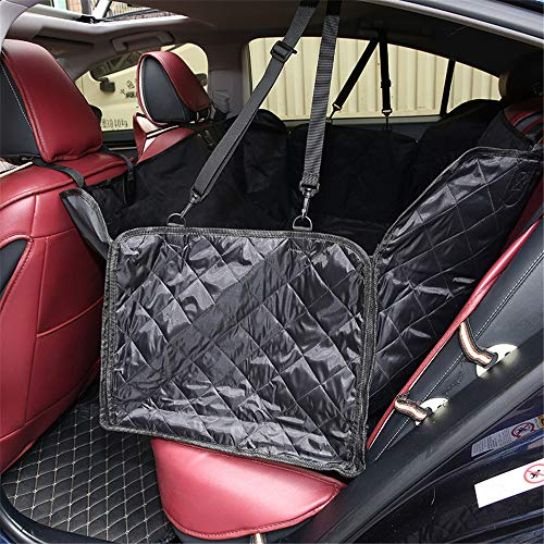 Dog Back Seat Cover, Pet Protector Waterproof Scratch Proof Nonslip Hammock, Protection Against Dirt, Pets Seat Covers, for Cars & SUV,L