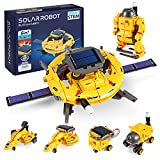 STEM Projects for Kids Age 8-12, Science Kits for Boys, Solar Robot Space Toys Gifts for 8-14 Year Old Teen Boys Girls, 120Pcs Building Experiments Robots for Teenage Ages 9 10 11 12.