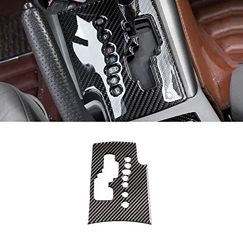 Jejhmy Für Toyota Rav4 RAV 4 2006 2007 2008 2009 2010 2011 2012 Carbonfaser Car Center Control Gear Schalttafel Rahmenabdeckung Innenverkleidung
