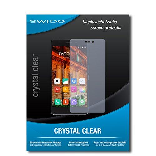 SWIDO Displayschutzfolie für Elephone P9000 Lite [3 Stück] Kristall-Klar, Extrem Kratzfest, Schutz vor Öl, Staub und Kratzer/Glasfolie, Displayschutz, Schutzfolie, Panzerfolie