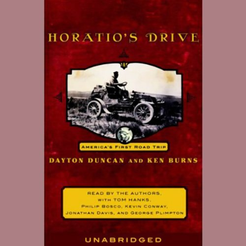 Horatio's Drive audiobook cover art