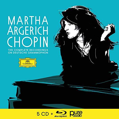 Argerich: Sämtliche Chopin-Aufnahmen für die Deutsche Grammophon (CD + Blu-ray Audio)