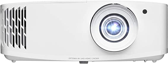 Optoma UHD50X True 4K UHD Projector for Movies & Gaming | 240Hz Refresh Rate | Lowest Input Lag on 4K Projector | Enhanced...