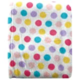 Luvable Friends Unisex Baby Coral Fleece Blanket, Pink, One Size