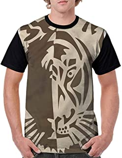 BlountDecor Classic T-Shirt,Trees Autumn Wilderness Fashion Personality Customization