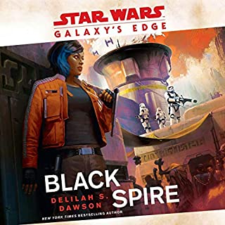 Galaxy's Edge: Black Spire (Star Wars) audiobook cover art