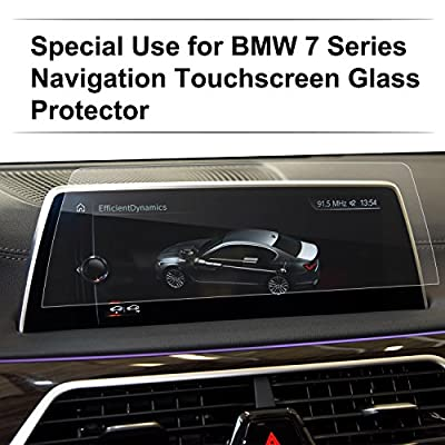 Car Navigation Screen Protector,[9H] Tempered Glass Infotainment Screen Center Touch Screen Protector Anti Scratch High Clarity