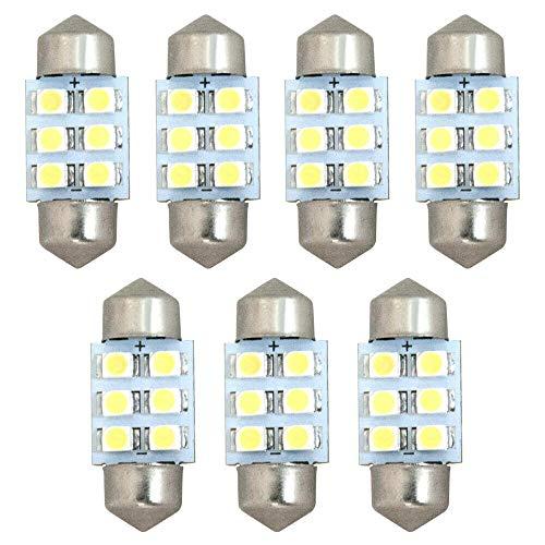 C25 セレナ [H17.5-H22.11] 純正球交換型 極LEDルームランプ 【7点セット】