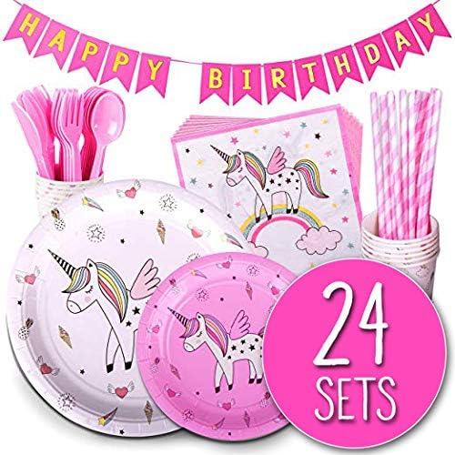 Spoleto 入手困難 限定特価 Group Unicorn Party Supplies an Birthday