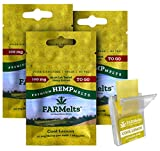 New FARMelts Hemp Strip, Hemp Oil Rapidly Absorbed for Quick Anxiety and Pain Relief, 10mg Hemp Per Melt, Made in The USA