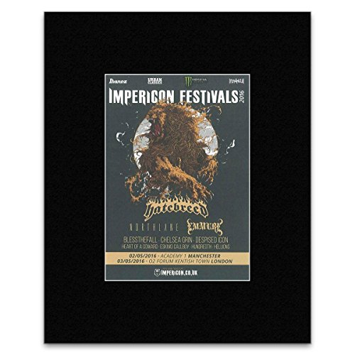 Kerrang Impericon Festival 2016 – Hatebreed North Lane And Immure Mini-Poster – 25,4 x 30,3 cm