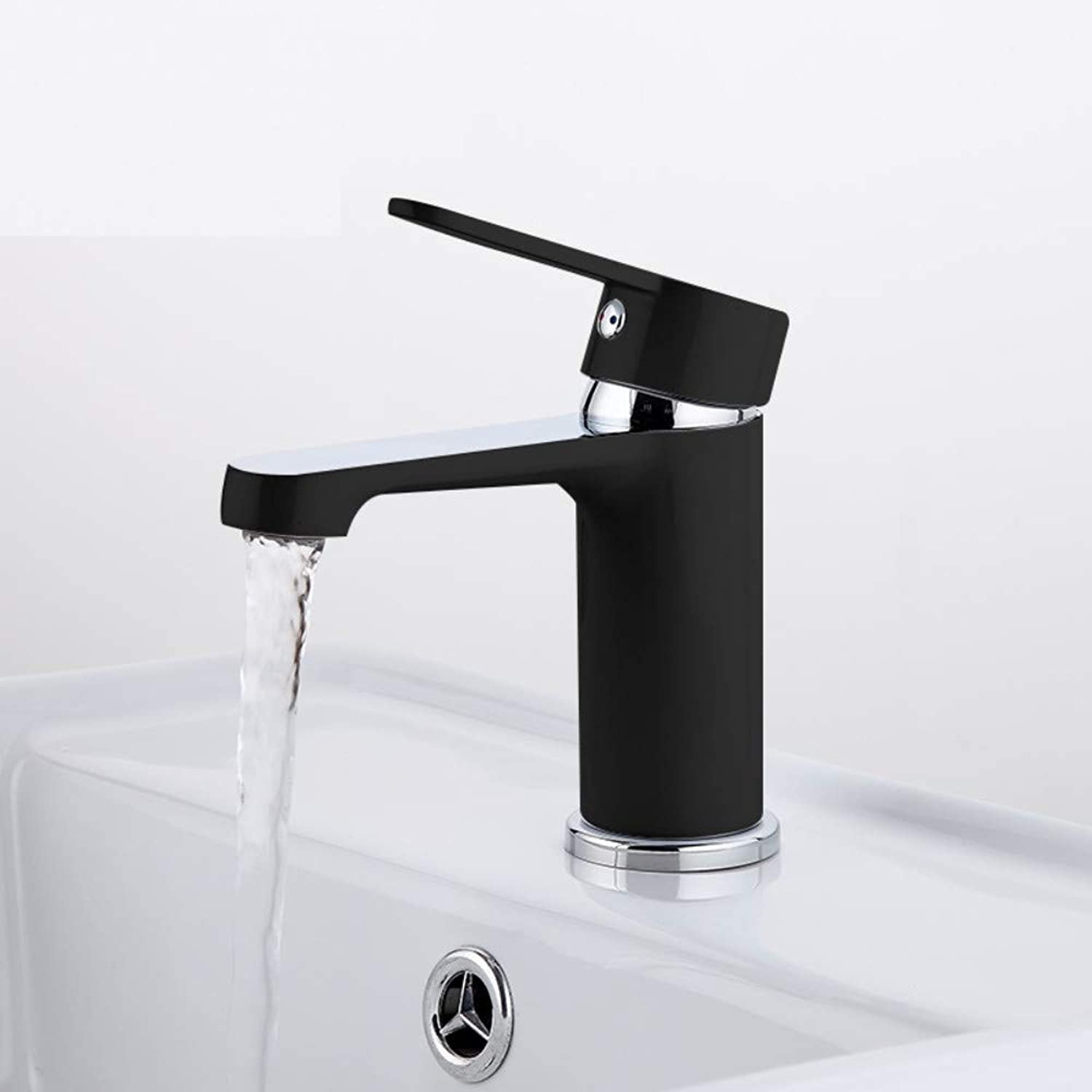 ROKTONG RAP Fashion Style Home Multi-color Bath Basin Faucet Cold and Hot Water Taps black White bathroom mixer