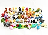 Iwako japanese erasers - Animal Collection set of 50 (There are 50 pieces decided/No duplicates)