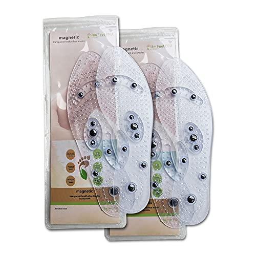 Slim Feet PRO - Set 2 paia di suole magnetiche da uomo