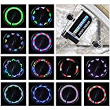 LED Bike Wheel Lights - Waterproof Bicycle Wheel Lights, Ultra Bright Bike Spoke Lights Bike Tire Lights, Safety Adult and Kids Bike Accessories, Cool 14 LED 30 Patterns Bike Lights for Wheels(1 Pack)