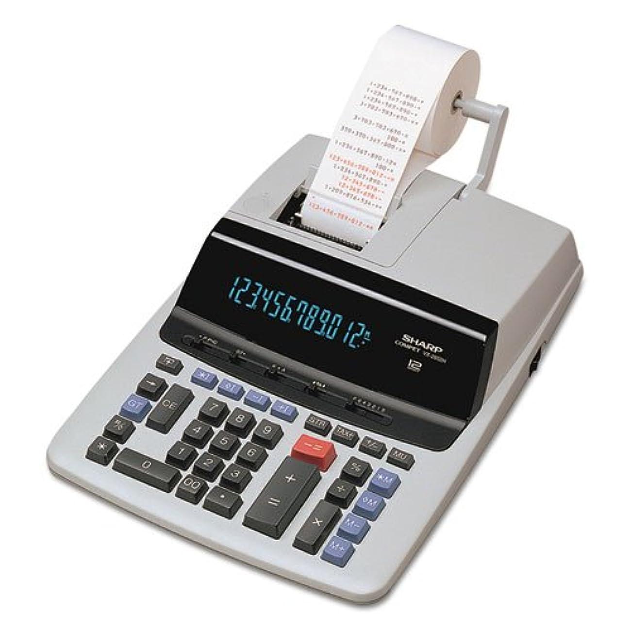 誇張ケニア売り手vx2652h 2色印刷電卓、ブラック/レッド印刷、4.8?Lines/秒 1-Pack