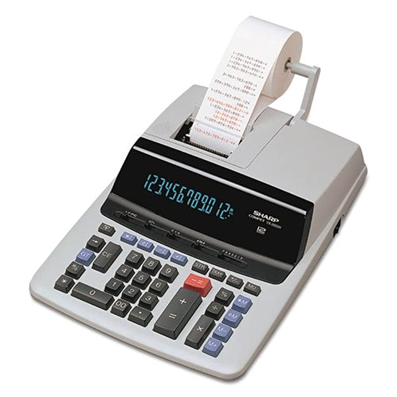 慣らすスキー動揺させるshrvx2652h?–?Sharp vx2652h Commercial印刷表示電卓