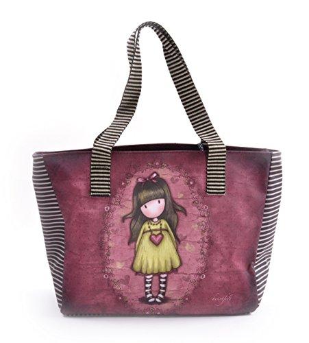 Santoro Gorjuss Shopper-Tasche mit Taschen - herzlichen