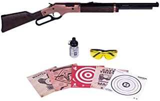 Barra Airguns 1866 Air Rifle Rosie Bundle Kit .177 Cal Pellet and BB Gun for Kids and Youth
