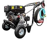 Nettoyeur haute pression essence jet de vapeur 250 bar   15 l/min Débit de   Moteur 13 CV avec 389 ccm