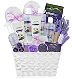 Premium Deluxe Bath & Body Gift Basket. Ultimate Large Spa Basket! #1...