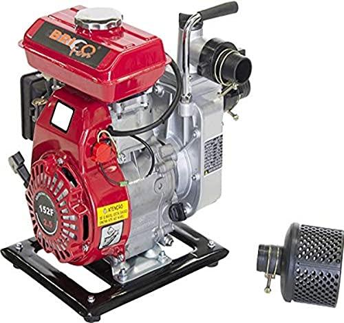 Wasserpumpe mit Benzinmotor, 97 ccm, 2,5 HP A 4 Stufen