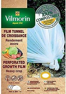 Vilmorin VB04106 Malla antimaleza Perforada de Polietileno 1,40 x 10 m, 50 mm