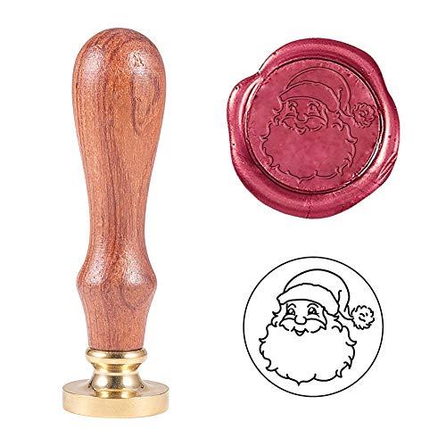 PandaHall Father Christmas Wax Seal Stamp Timbro...