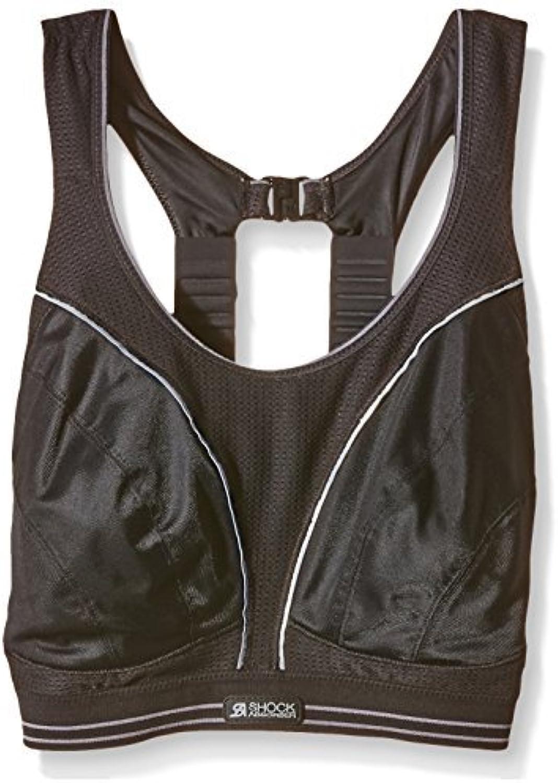 Shock Absorber Women's Run Sports BraBlack Silver, Size 32G by Shock Absorber