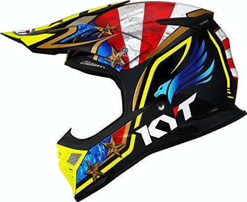 KYT Skyhawk Hi-Fly Casco Motocross