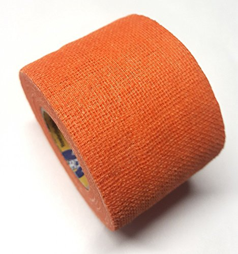 Howies Schlägertape Profi Non-Stretch Grip Hockey-Tape, Griptape (orange), 4,57 m