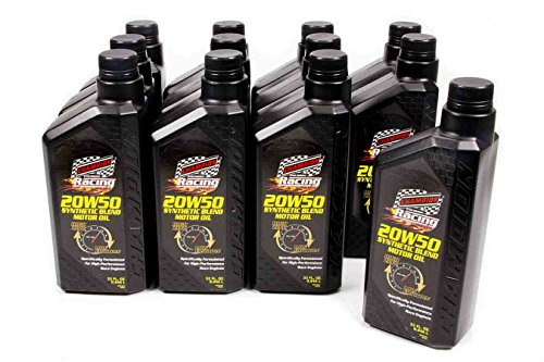 Champion 4111H-12 Synthetic Racing Oil, 12 Quart
