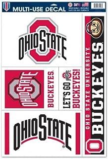 WinCraft NCAA Ohio State University 00676014 Multi Use Decal, 11