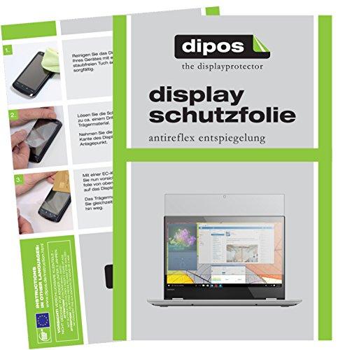 dipos I 2X Schutzfolie matt kompatibel mit Lenovo Yoga 520 Folie Bildschirmschutzfolie
