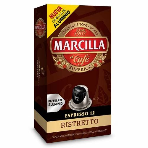 Cápsulas Nespresso® Marcilla Ristretto (10 cápsulas)