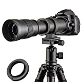 Jintu 420–800 mm F/8,3-16 Top téléobjectif à mise au point manuelle plein...
