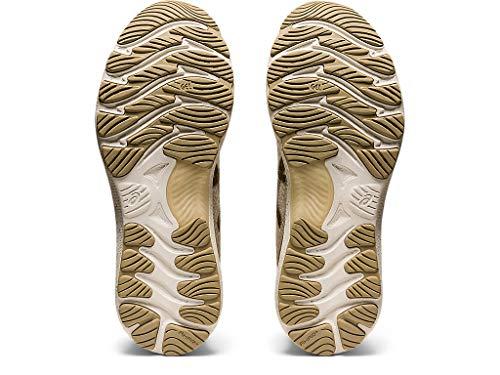 ASICS Men's Gel-Nimbus 23 Running Shoes, 11.5M, Cream/Putty