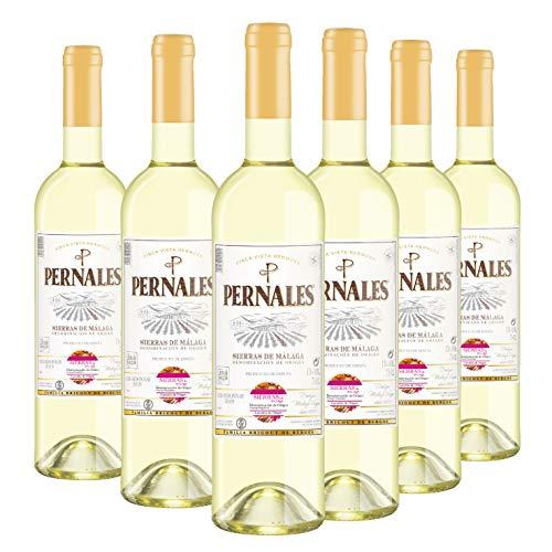 Pernales Chardonnay - Pack 6 botellas de 75 cl - Vino blanco D.O.