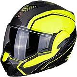Scorpion Casco moto EXO-TECH TIME-OFF Neon Yellow/Silver, Nero/Blu/Bianco, M