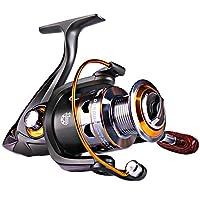 Sougayilang Spinning Fishing Reels Smooth 11BB for Inshore Boat Rock Freshwater Saltwater Fishing-DK2000
