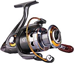 Sougayilang Spinning Fishing Reels Smooth 11BB for Inshore Boat Rock Freshwater Saltwater Fishing-DK4000